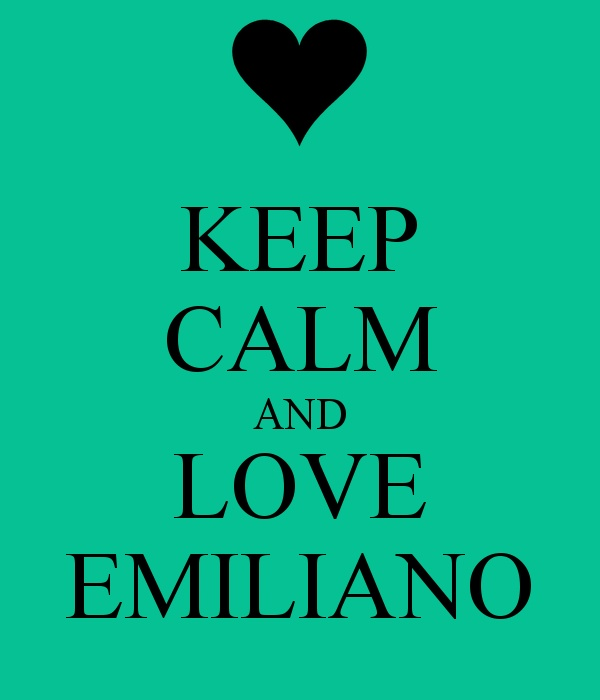 i mean Emiliano Giambelli, of course...:) Emis Killa, I love all his songs!