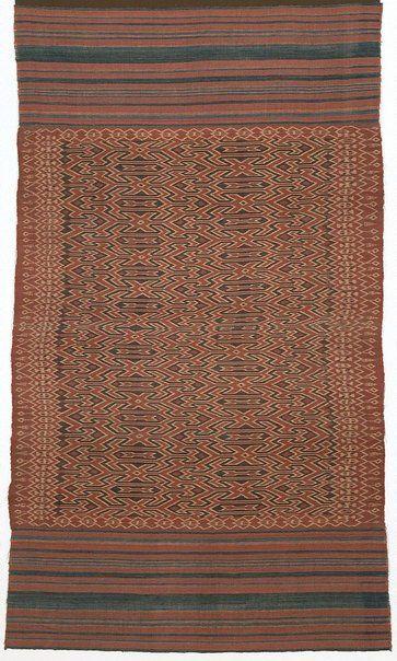 Indonesia | | Toraja people, Sulawesi | Ikat textile