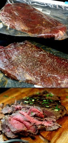 Spectacular Asian Marinated Flank Steak and How to Make Flank Steak as Tender as Filet Mignon.