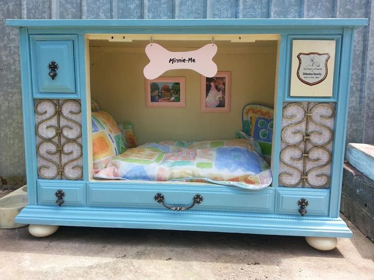 17 best ideas about old tv consoles on pinterest for Dog bed roof