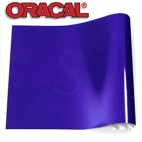 Oracal 651 Glossy Vinyl Sheets - Brilliant Blue