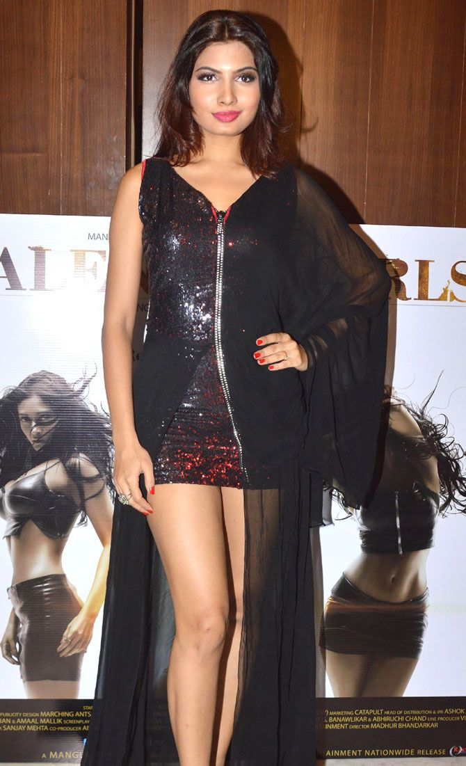 Avani Modi at a press conference to promote 'Calendar Girls'. #Bollywood #CalendarGirls #Fashion #Style #Beauty #Hot #Sexy #Legs