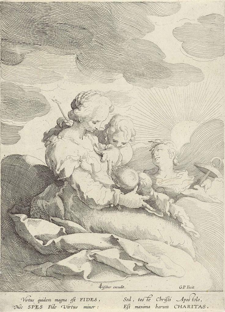 De drie goddelijke deugden, Gerrit Pietersz. Sweelink, 1590 - 1610