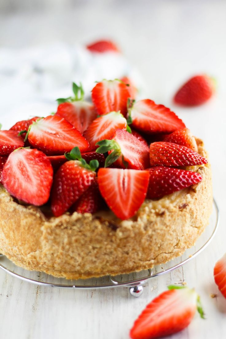 VEGAN FRUITY RICE PUDDING CAKE WITH SHORTCRUST PASTRY