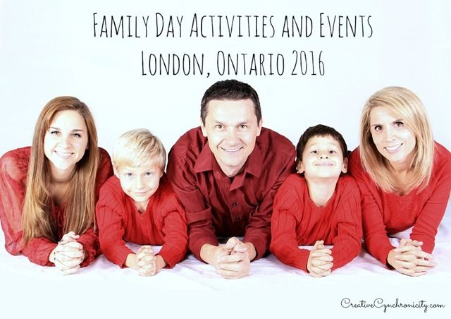 Fun family-friendly activities and events for Family Day 2016 in London Ontario. Many of these are even free! Plan your family time here.