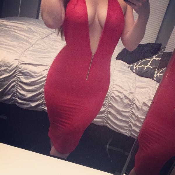 Go Far Away Suede Dress