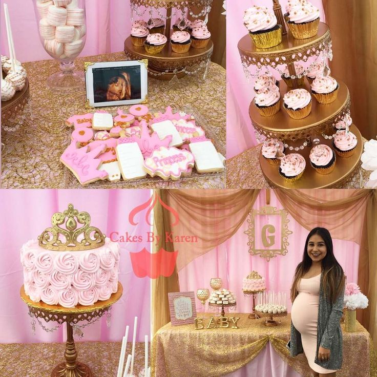 Pink and Gold baby shower Baby Shower Party Ideas | Photo 1 of 4