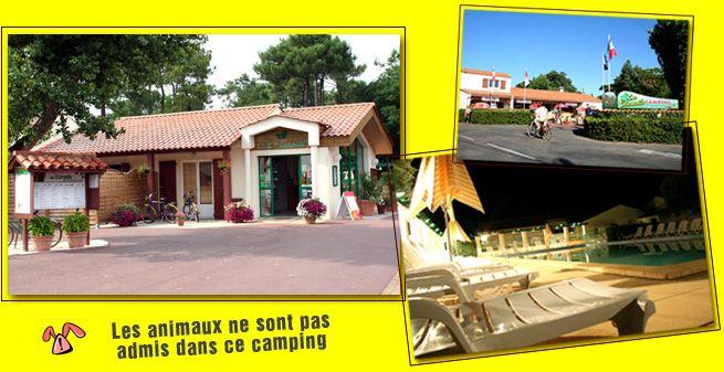Camping Vendée jard sur mer - Camping des Ecureuils