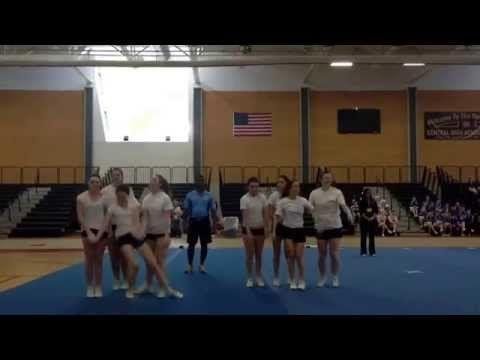 Cheerleading STUNT Demo- Level 2 - YouTube