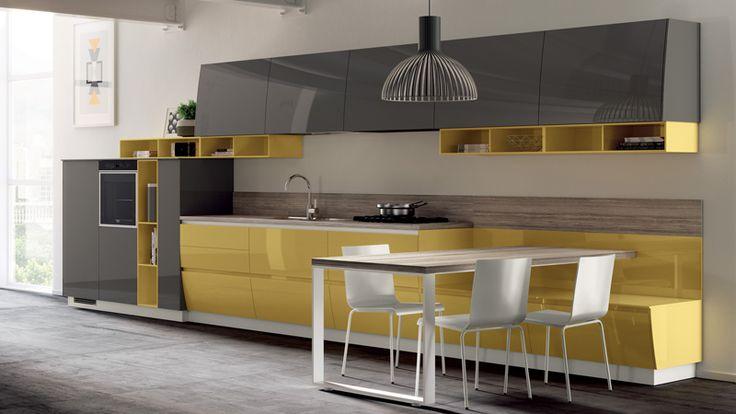 """Новинка от компании Scavolini: итальянские кухни модели Flux Swing - Итальянская мебель в салонах """"PETRA"""""""