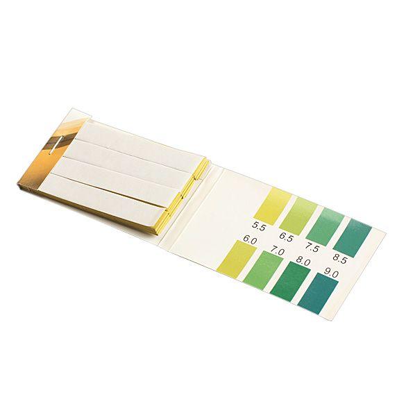 Uniwersalny wskaźnik papiery 80 Paski Zakresie PH 5.5-9.0 Wskaźnik PH Alkaliczne Papiery Materiały Laboratoryjne Sklep