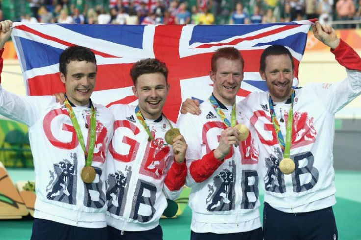 More gold medal joy for Team GB as Wiggins becomes most-decorated athlete