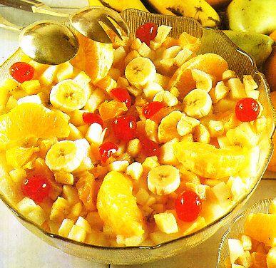 Ensalada de frutas al coñac by www.vinosyrecetas.com