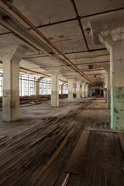 Warp Speed Ahead. Abandoned Warehouse http://www.flickr.com/photos/stevenbley/7209468546/