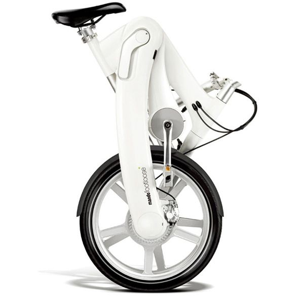 The Mando Chainless Folding eBike