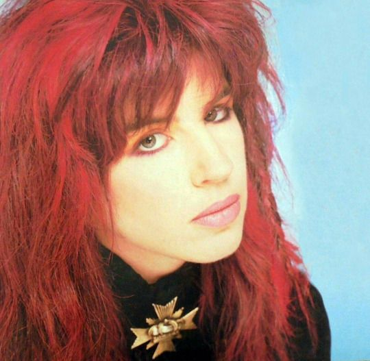Michael Steele of The Bangles,1987