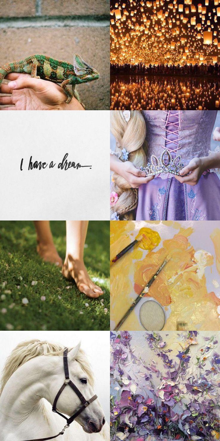Disney princess aesthetics: Rapunzel || Pinterest: sassyhufflepuff