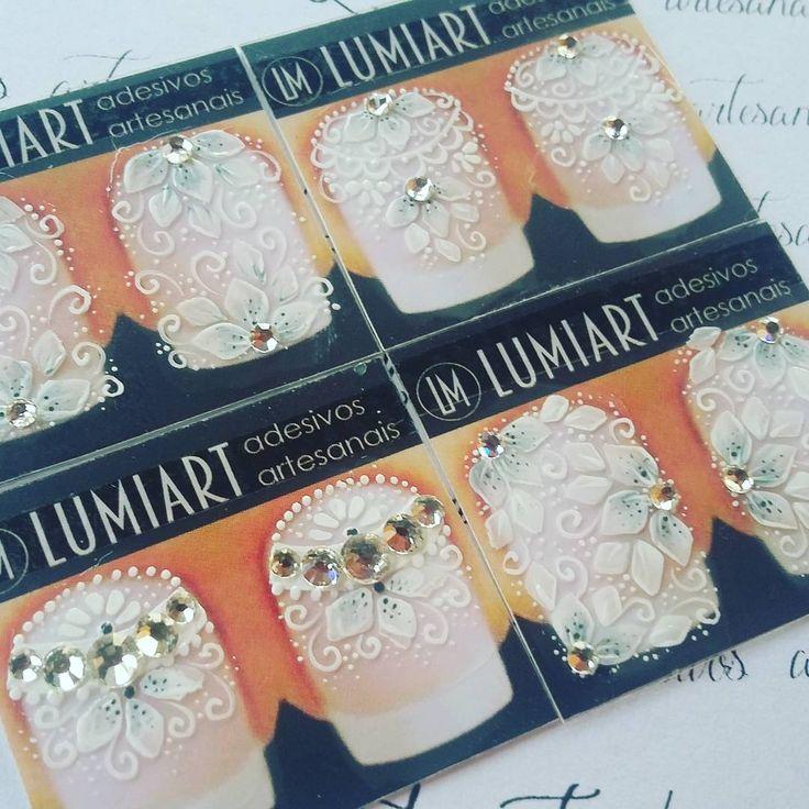 Lumiart: a beleza das unhas se faz humana -  e em todos os tons. #BrancoTendência #Lumilindos