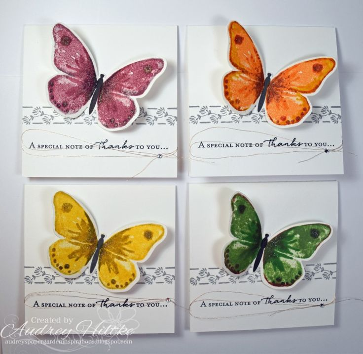 IC561 Thank You Cards by AudreyAnn - Cards and Paper Crafts at Splitcoaststampers