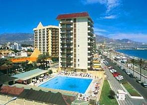 Our hotel in Fuengirola, Spain - Las Piramides