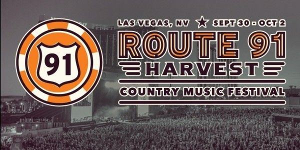 Route 91 Harvest Country Music Festival Lineup Announced