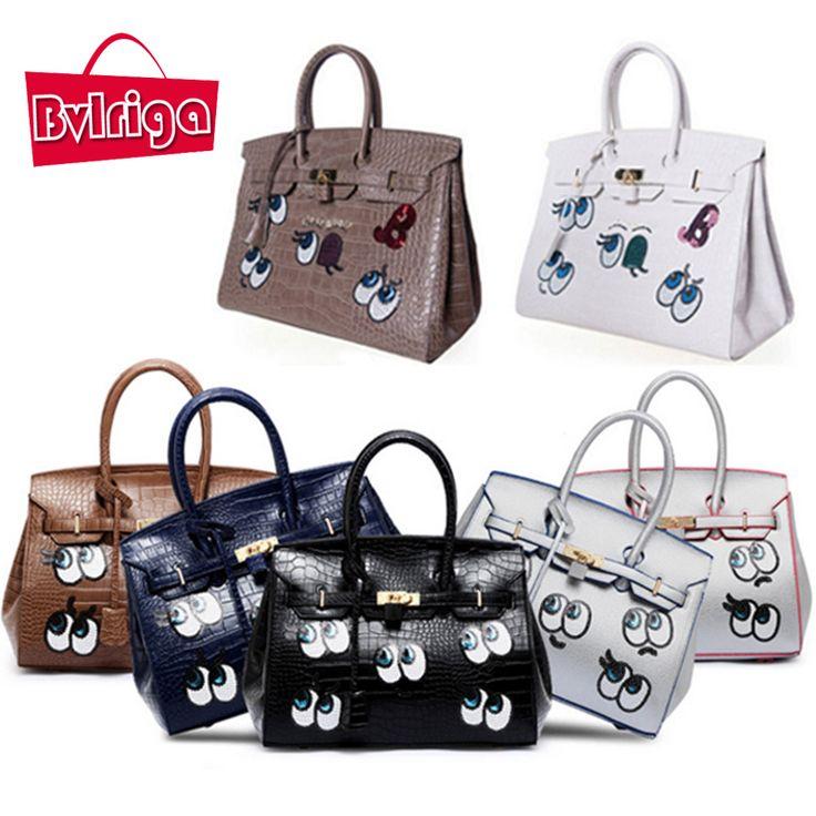 Women Messenger Bags Handbags Women Famous Brands Big Size Shoulder Bags Women Leather Handbags Eyes Crocodile Totes //Price: $57.00 & FREE Shipping //     #freeshipping