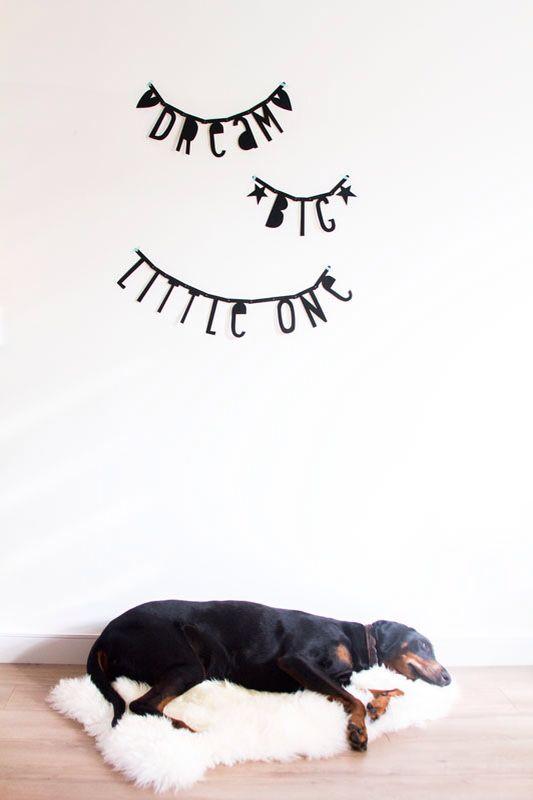 #Wordbanner #tip: #Dream big Little one - Buy it at www.vanmariel.nl - € 11,95