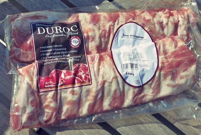 Spareribs vom Duroc Schwein, Grill-Rezept, Seglerküche, Kochen an Bord oder Camping