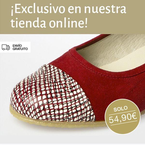 ¡EXCLUSIVO ONLINE! Consigue tus bailarinas de piel favoritas por sólo 54,90€ 4 colores: Rojo, azul, negro y nude. ¿Con cuál te quedas?  #Spiffy #madeinspain #hechoenespaña #calzado #zapatos #bailarinas #piel