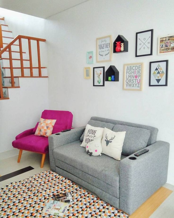 25 ide terbaik ide ruang keluarga di pinterest ruang