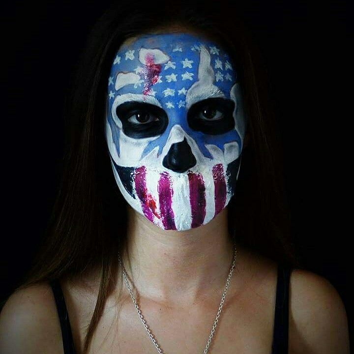 Sfx makeup of The purge / American Nightmare