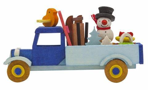 Adorable Christmas trucks - Tree decorations