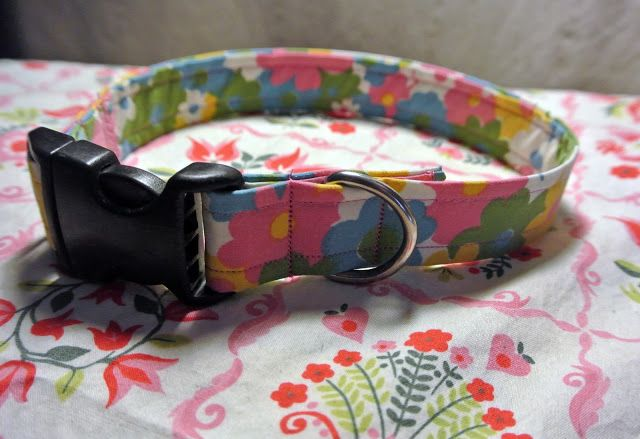 dogphx: Doggie DIY : Dog Collar sewing tutorial