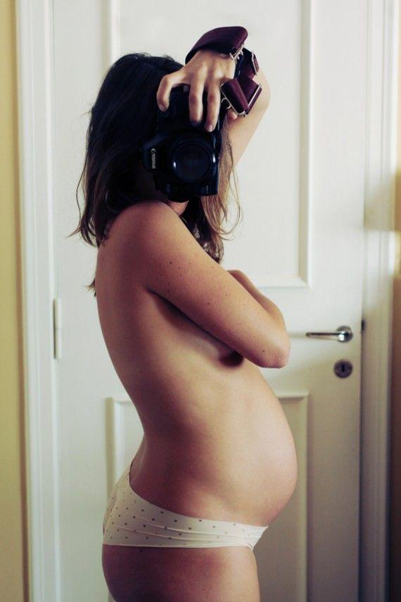 4 semaines enceinte et gonflée