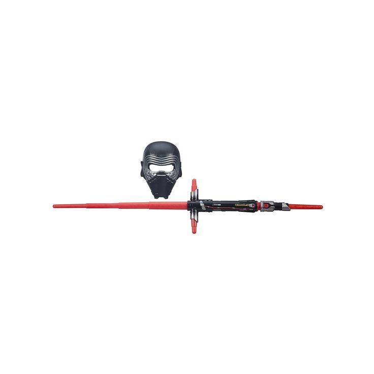 Star Wars: Episode VII The Force Awakens Kylo Ren Bladebuilders Lightsaber & Mask Set by Hasbro, Multicolor