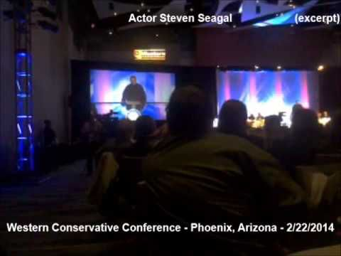 Steven Seagal: If Benghazi Truth Comes Out Obama Won't Make It; Impeachment