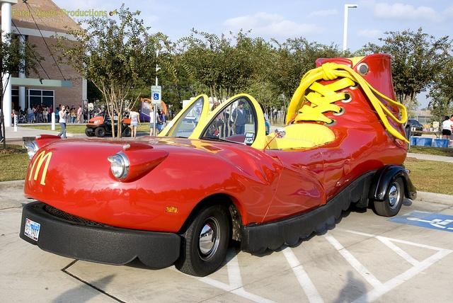 What Car Is The Mcdonald S Shoe Car