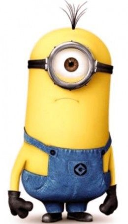 Large Yellow Minion from Despicable Me 2.