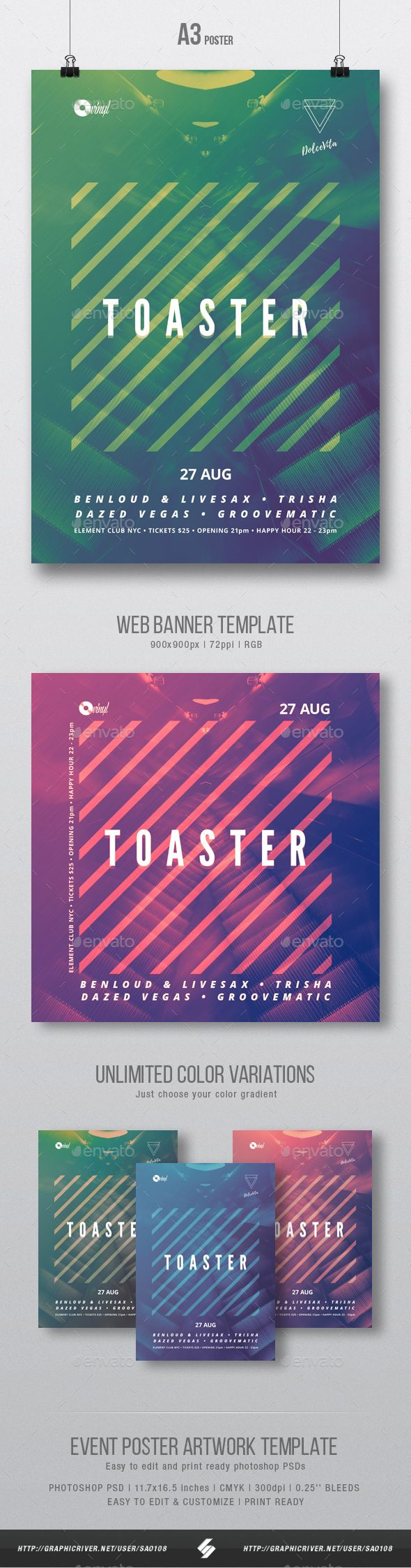 Club dance, tech-house party flyer, poster artwork templateElectronic music party flyer template suited for different genres of electronic music like minimal, techno, techhouse, progressive, dubstep, drum and bass, electronica, trance, electro, deep house, cl