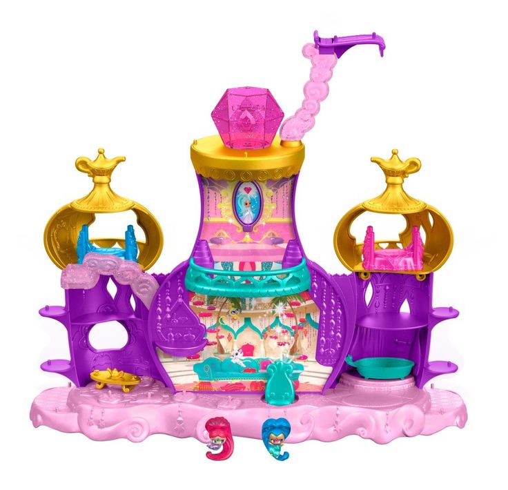 Shimmer & Shine Toys Genie Palace Playset Teenie Floating Christmas Gift NEW    #FisherPrice