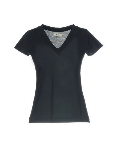 ALPHA STUDIO Women's T-shirt Dark blue 10 US