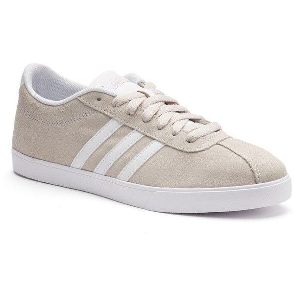 Adidas NEO Courtset Women's Suede Sneakers ($33) ❤ liked on ...