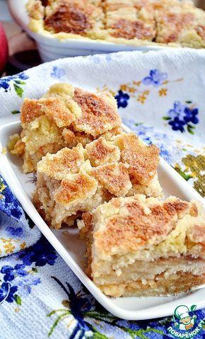 Постный яблочный пирог - кулинарный рецепт