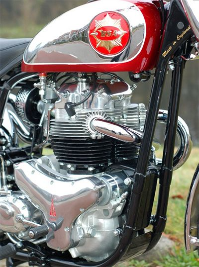 BSA Lightning 650cc Twin