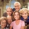 """""""The Mary Tyler Moore Show.""""  (1970-77). Simple, fun entertainment. Great cast of Ed Asner, MTM, Betty White, Ted Knight, Gavin MacLeod, Cloris Leachman and Valerie Harper. Almost all of these stars went on to have other shows and became successful in their own right over the years to follow."""