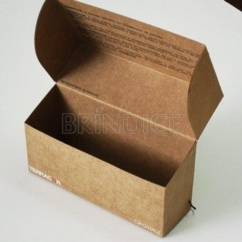 Caixa de papel ou papelão SÃO PAULO SP - 18787 - Brindes Personalizados - Caixa em cartão kraft- Veja aqui mais detalhes