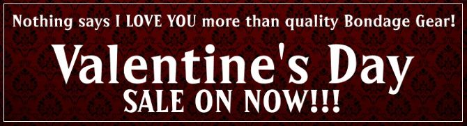 Big Valentine's Day Sale on NOW at the Church of Sinvention. Get your lover something naughty and nice.