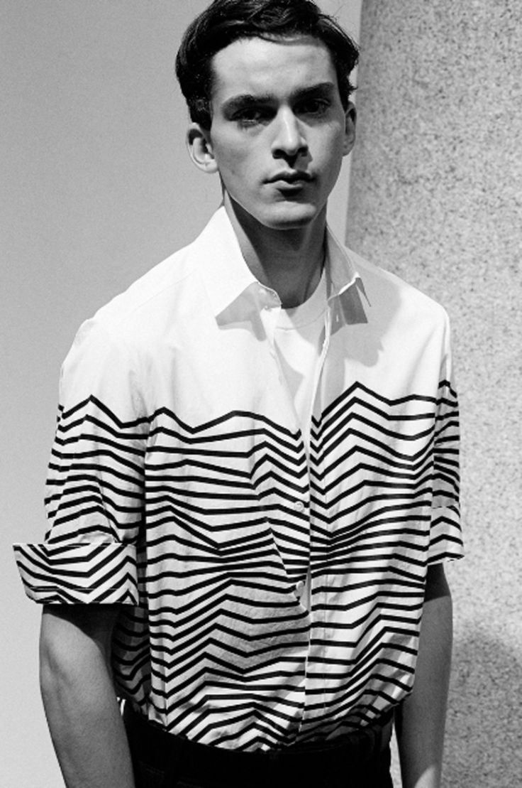Ryan Hassaine by Lonny Spence - Backstage at Neil Barrett, SS16