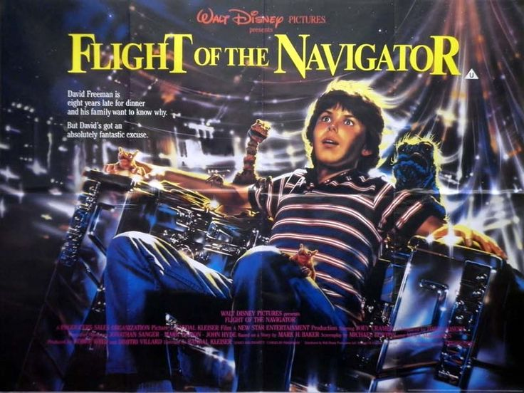 29a19ad9 Fed9 409d 9217 00e364839bf5 Jpg 800 601 Pixels Best Sci Fi Movie Flight Of The Navigator Movie Posters