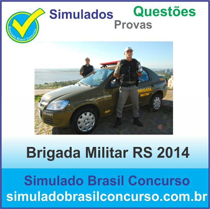 Novas questões para o concurso da Brigada Militar do RS. Aproveitem...  http://simuladobrasilconcurso.com.br/simulados/concursos/?filtro_concurso=3458  Descubra!!! Compartilhe!!! Curta!!!  Muito Obrigada e Bons Estudos, Simulado Brasil Concurso  #SimuladoBrasilConcurso, #SimuladoBrigadaMilitar